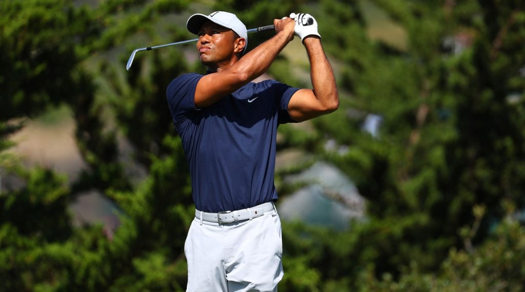 Tiger Woods is going for his fourth U.S. Open title this week.