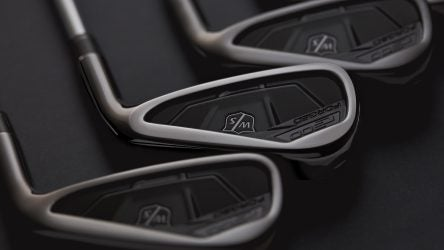 Wilson Staff's C300 Forged irons are now available in a mirrored gunmetal finish.