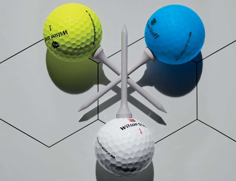 Wilson's golf ball line for 2019.
