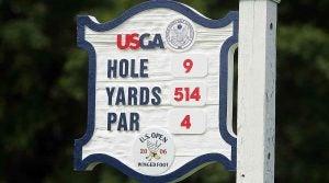 2006 U.S. Open sign