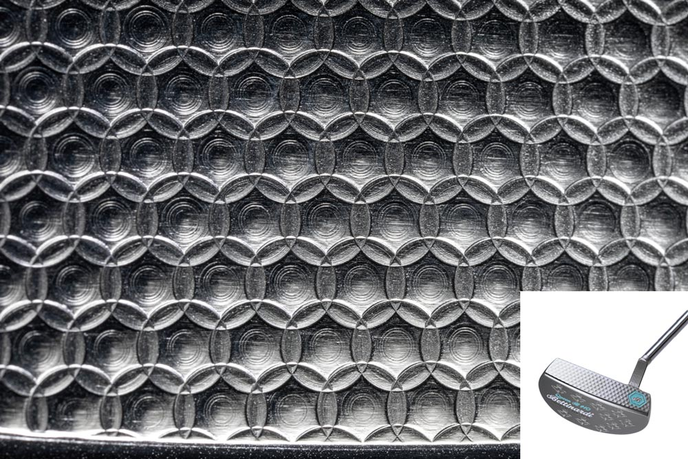 Bettinardi's Micro Honeycomb milling pattern.