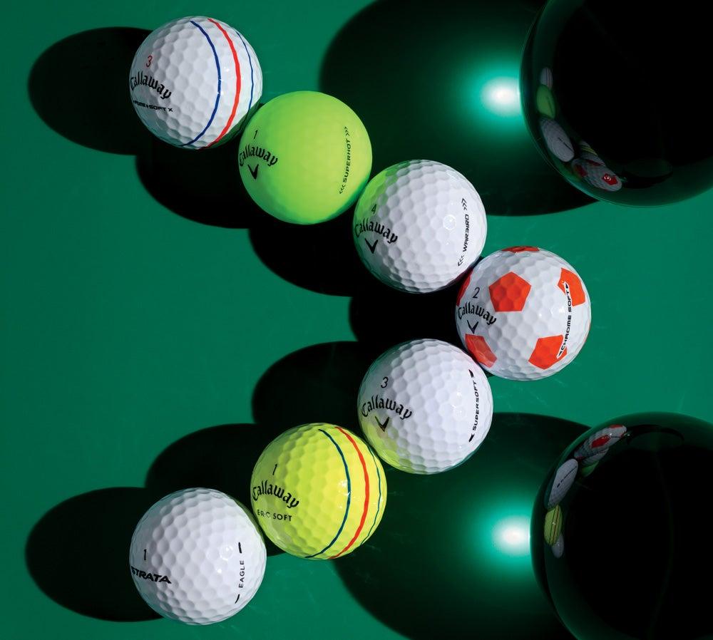 Callaway's golf ball line for 2019.