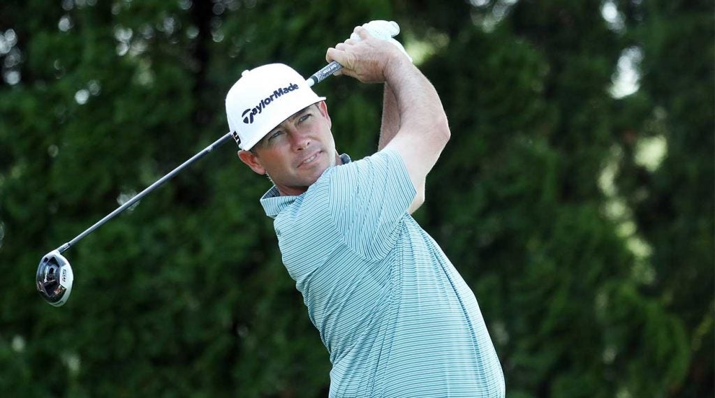 Chez Reavie tied for 54th among those who made the cut in driving distance at the Travelers, but that didn't stop him from winning.