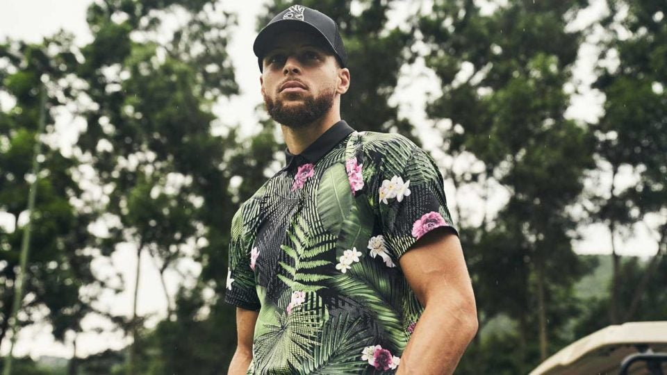 new concept fb0fb 4bac6 Under Armour unveils Steph Curry signature line of golf gear