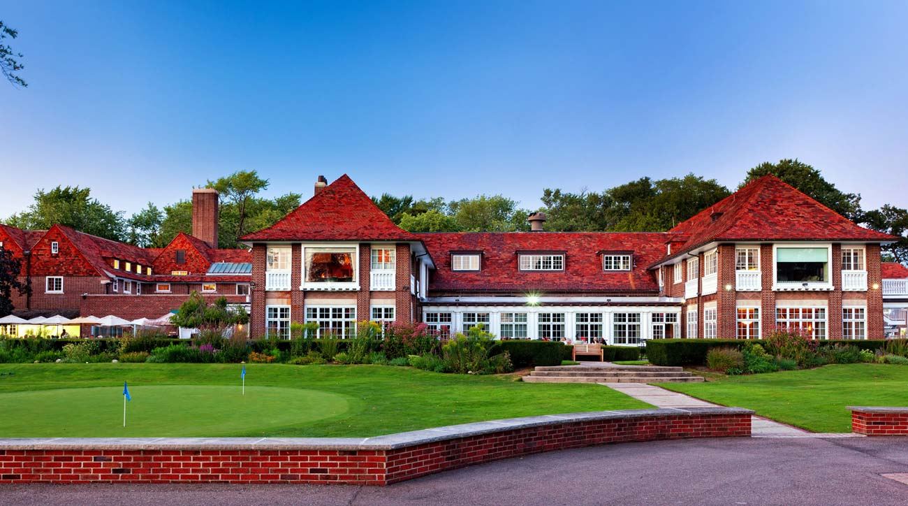 Detroit Golf Club's clubhouse