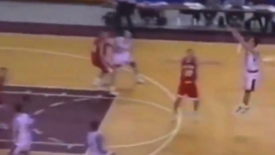 Gary Woodland basketball skills