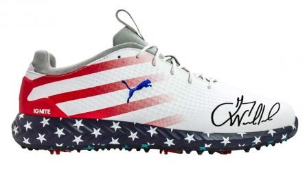 Gary Woodland Star Spangled golf shoes