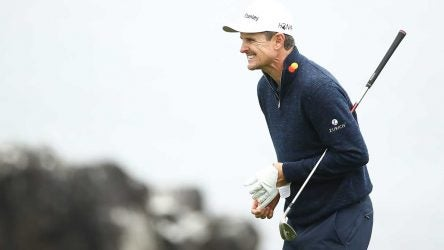 Justin Rose shot a three-over 74 and tied for 3rd at the U.S. Open. He entered the final day one off the lead.