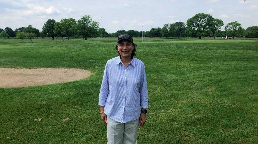 Peek oversees Detroit's three municipal golf courses: Rackham, Rouge Park and Chandler Park