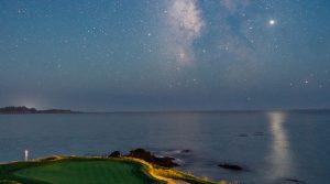 Pebble Beach's 7th hole, Milky Way
