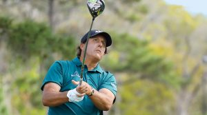 Phil Mickelson has gained driving distance over the past two years