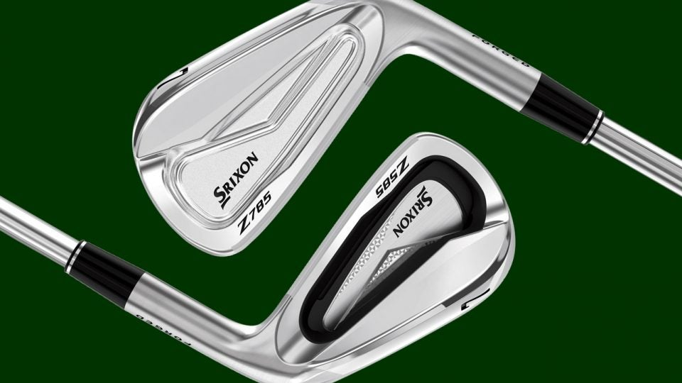 Srixon Z785 irons and Z585 irons