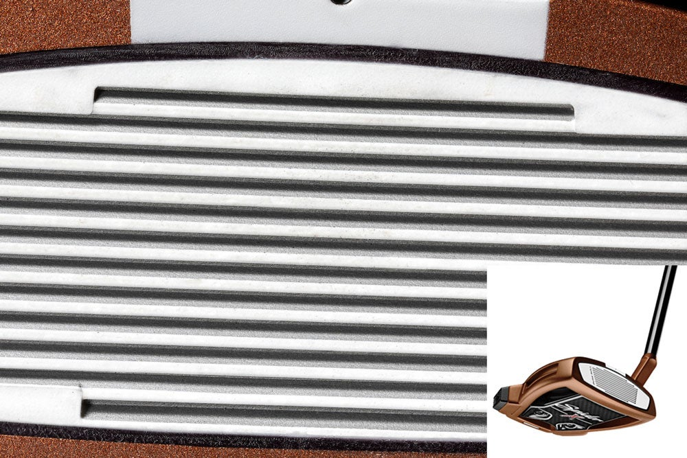 TaylorMade's Pure Roll insert.