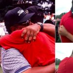 Tiger Woods Father's Day tweet