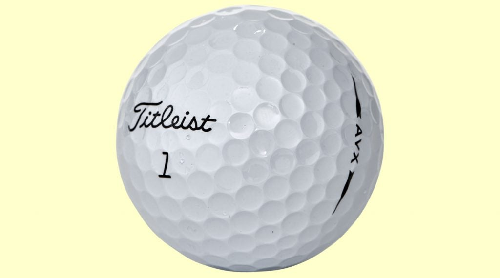 For players with high launch stats, it's best to use a slow-spinning golf ball like the Titleist AVX.