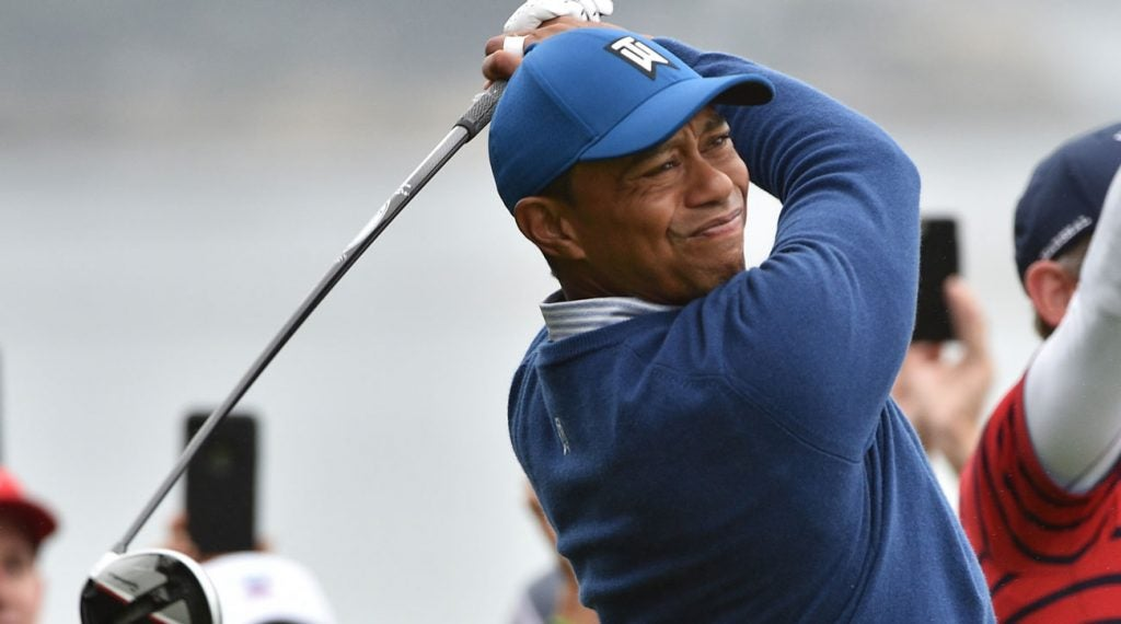 Tiger Woods will be in the mix during the third round of the 2019 U.S. Open at Pebble Beach.