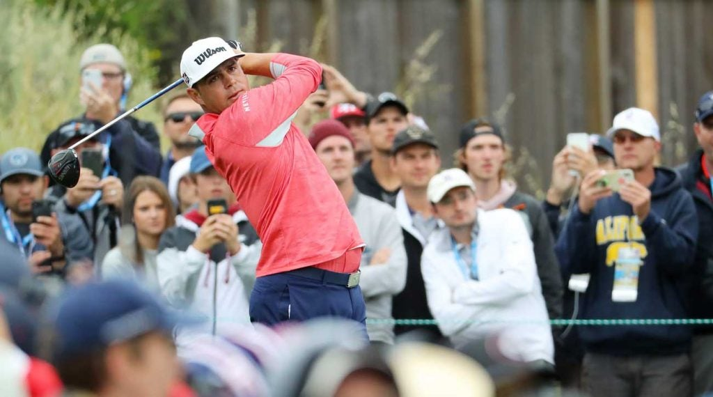 Gary Woodland is a major champion for the first time.