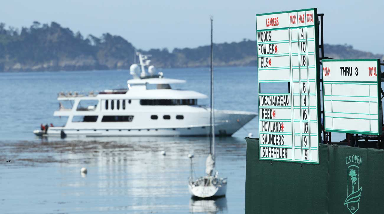 The best place to watch the U S  Open? On a yacht in