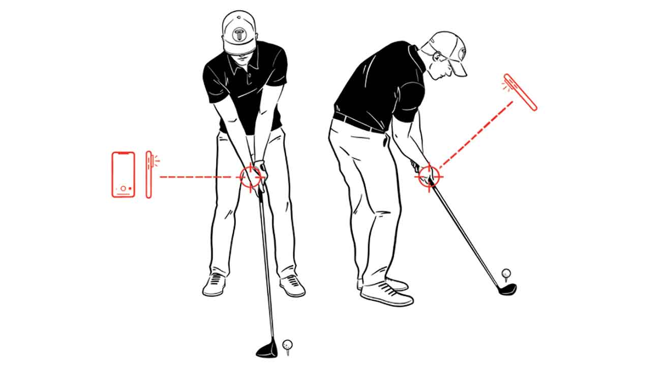 Cheat Sheet This Is The Correct Way To Film Your Golf Swing