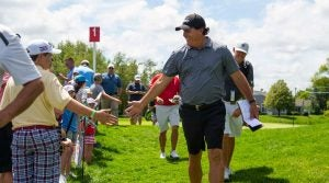 Phil Mickelson at the 3M Open