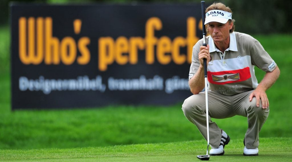Bernhard Langer's public battles (and triumphs) over the yips have been well-documented.