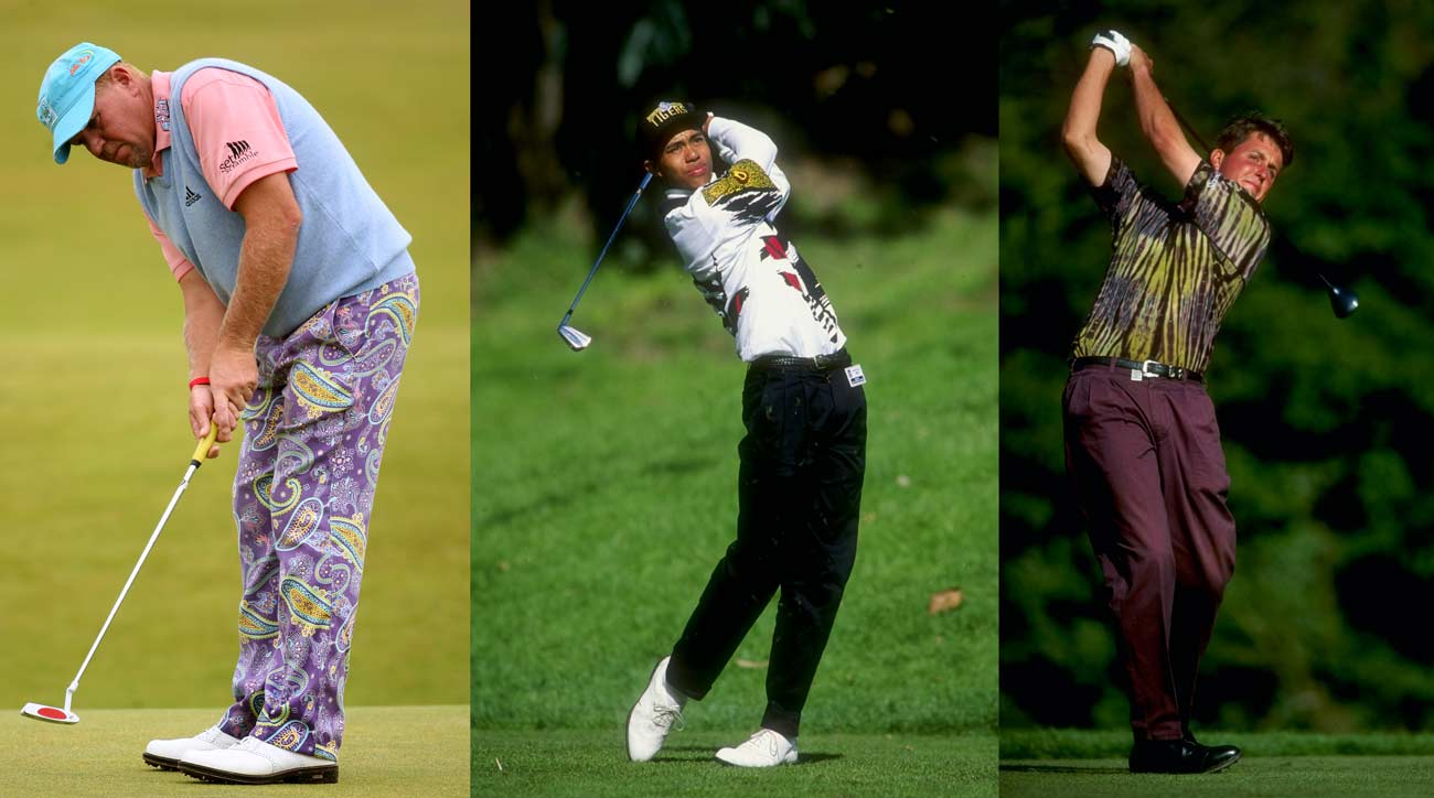 the 18 most outrageous tour golf outfits of the last 30 years