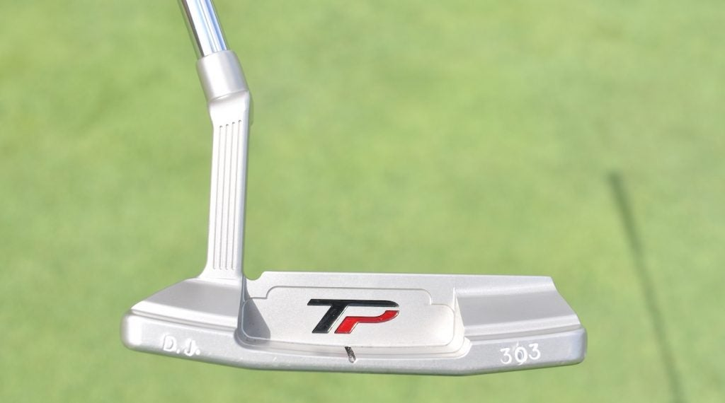 Dustin Johnson's TaylorMade TP Juno putter.