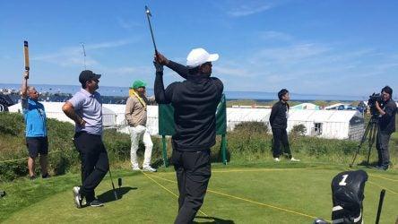 Tiger Woods Patrick Reed
