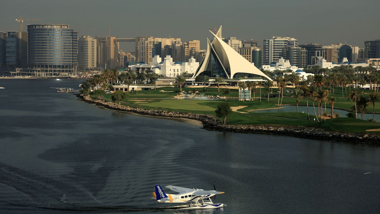 Dubai Creek has one of the most uniquely-designed clubhouses in the world. Once you step out on the course, the views overlook one of the world's busiest cities.