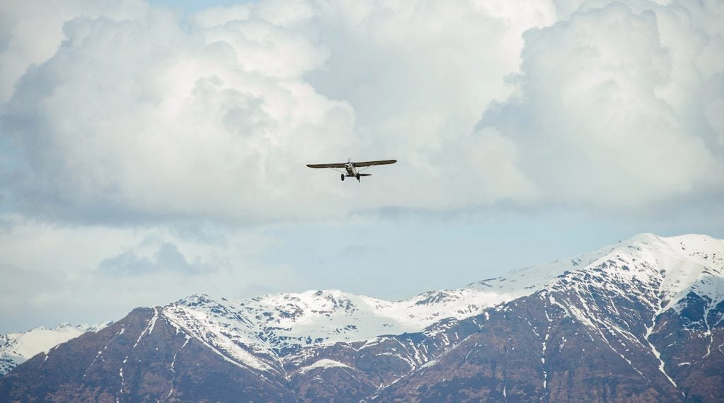 Airplanes are the most common form of travel in Alaska.