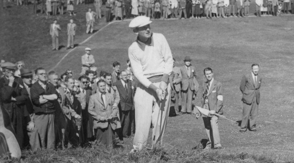 Norman Von Nida was one of two golfers to shoot a sub-70 round during the 1951 Open Championship