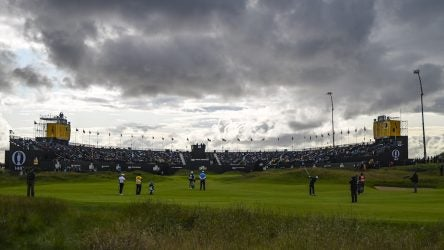 Royal Portrush on Friday at The Open.