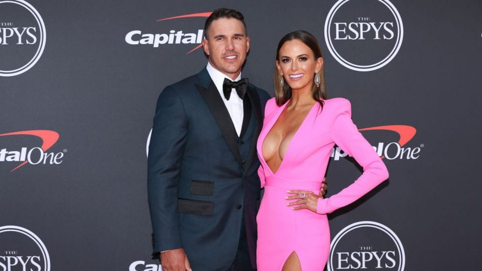Brooks Koepka's girlfriend Jena Sims makes fun of outfit