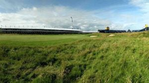 The most difficult spot at Royal Portrush is right here.