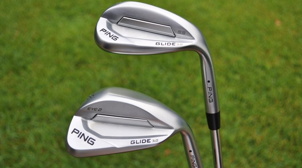 Ping's Glide 3.0 comes in four sole grinds, including a new Eye2.