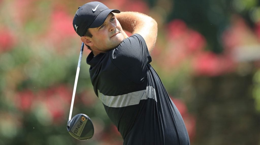 Patrick Reed was seen using a Ping G400 driver during the second round.