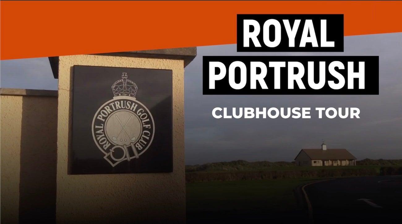 Royal Portrush Clubhouse Tour Golf