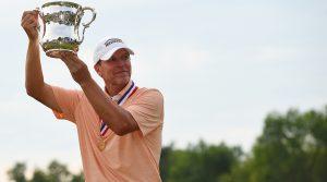 Steve Stricker blew the field away at the U.S. Senior Open.