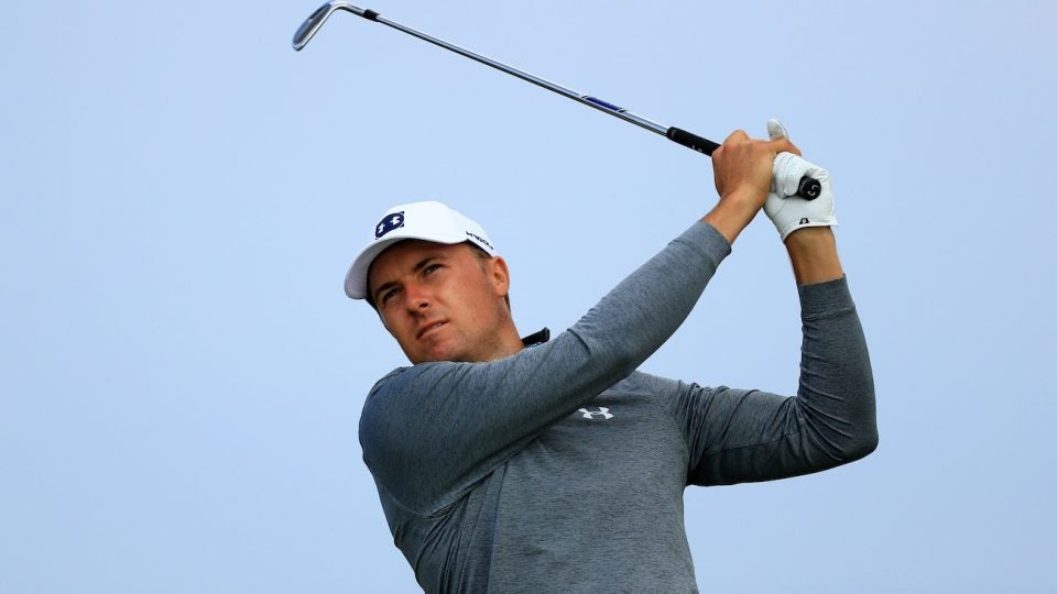 Jordan Spieth will have new irons in the bag at Portrush.