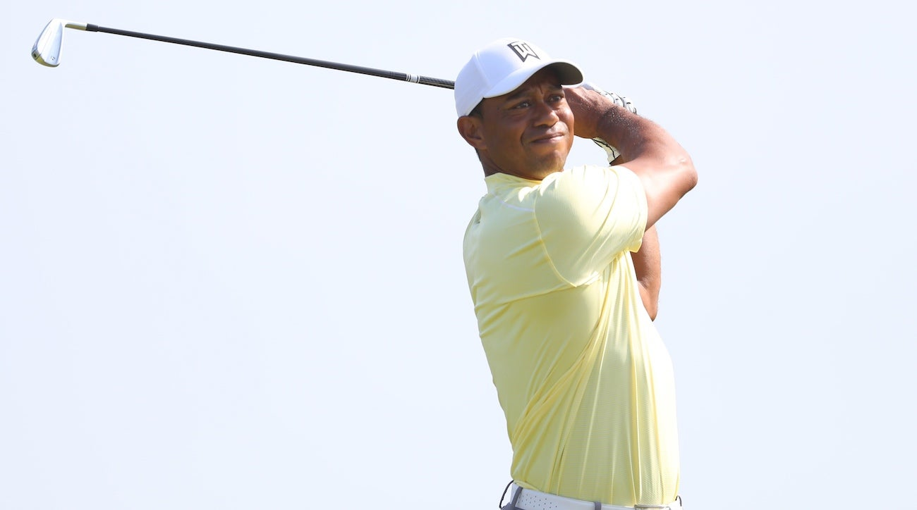 british open 2019  tiger woods has something new in the bag at portrush