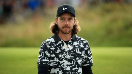 Tommy Fleetwood shirt at British Open