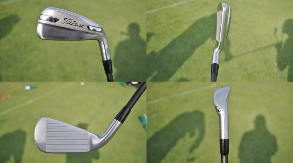 Titleist's U510 utility iron from every angle.