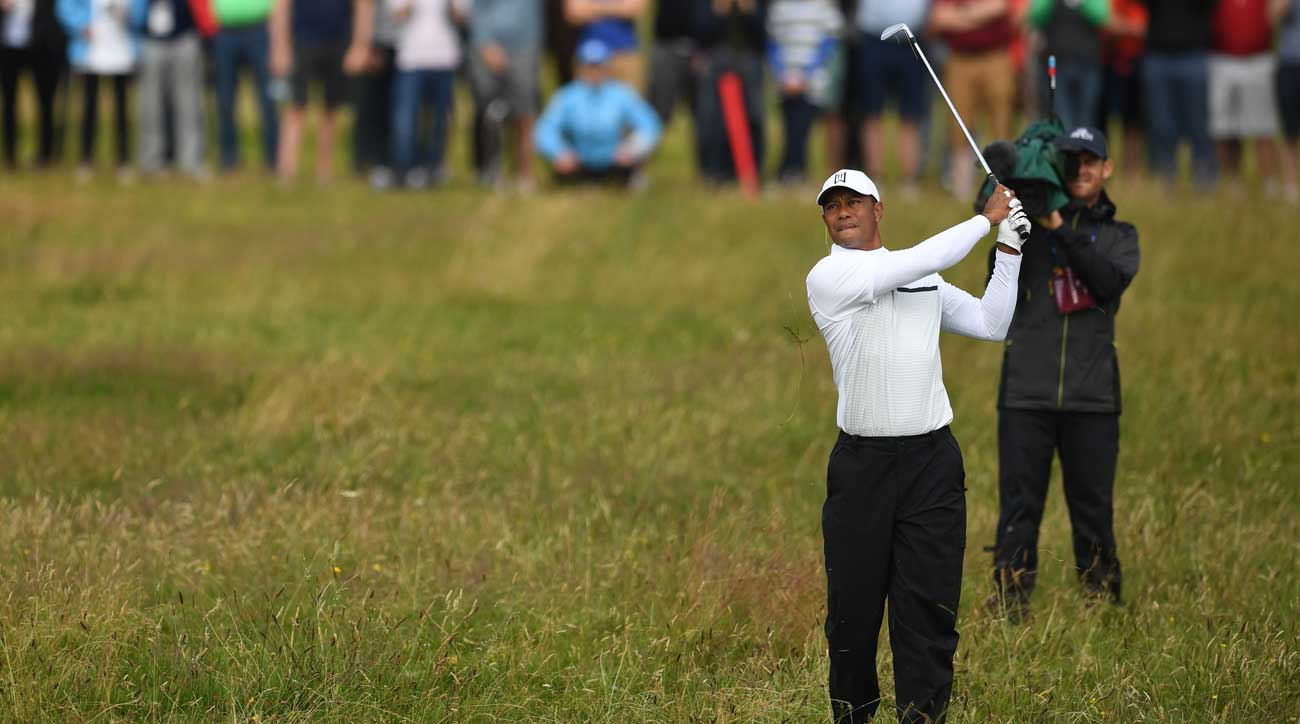 british open 2019  tiger woods u0026 39  second round 70 not enough