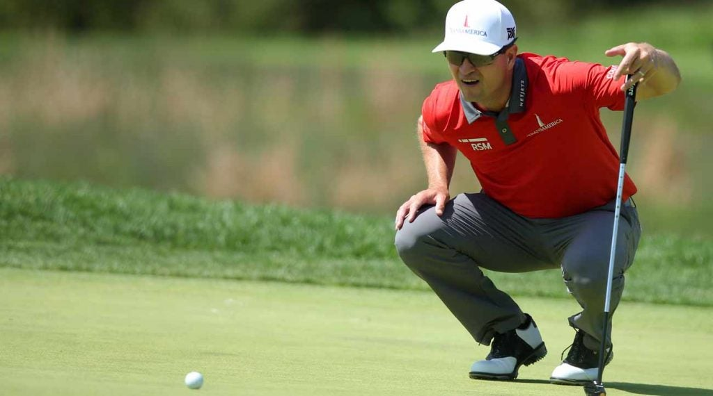 Zach Johnson's short game has been rock-solid over the years.