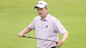 Bob MacIntyre said he had words with Kyle Stanley following their second round at the British Open on Friday.