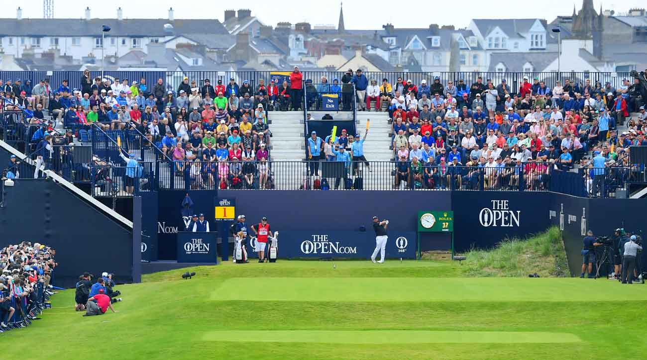 2019 british open tee times  final round pairings for