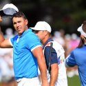 Brooks Koepka waves to the crowd after winning the WGC-FedEx St. Jude on Sunday.
