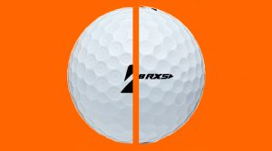 Tiger Woods' Bridgestone golf ball