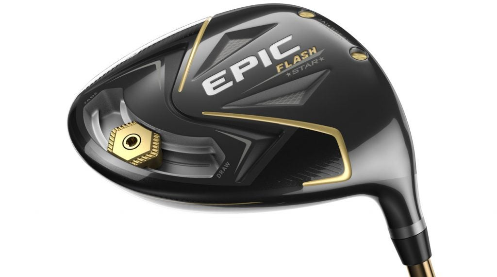 The new Callaway Epic Flash Star driver.