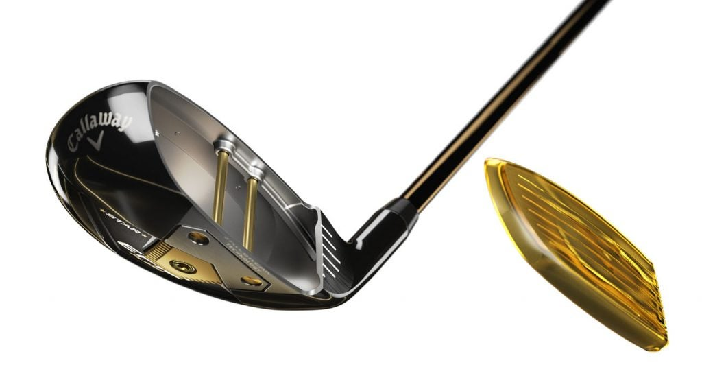 A peek at the technology in the new Callaway Epic Flash Star hybrid.